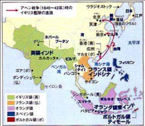 列強のアジア支配