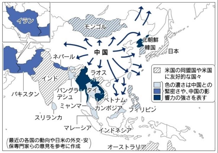 進む中国の東南アジア進出