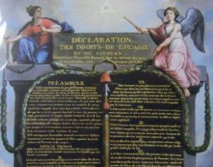 「フランス人権宣言」