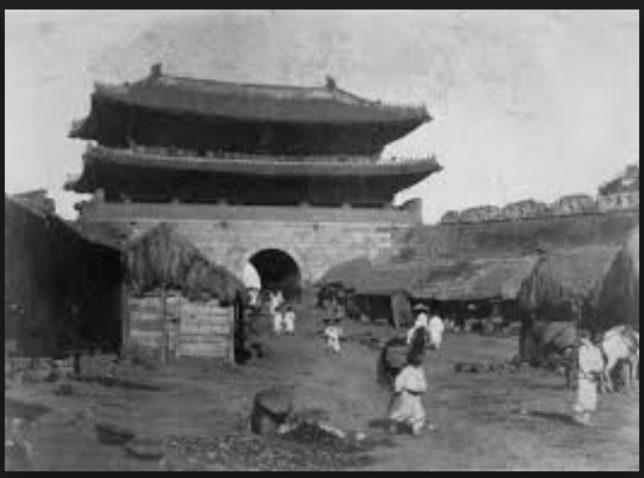 日本統治前の韓国 南大門