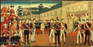 「広島国会仮議事堂の図」