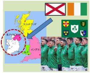 アイルランドとラグビーチーム