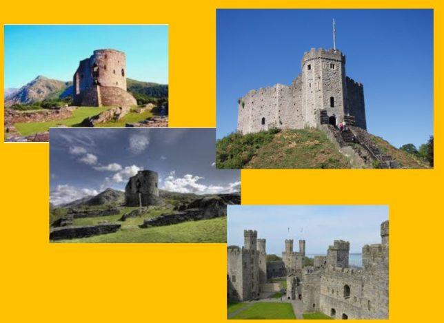ウェールズの城