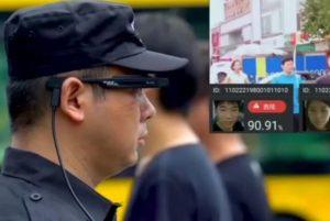 中国警察の「顔認識メガネ」