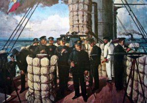 日露戦争時の日本海海戦
