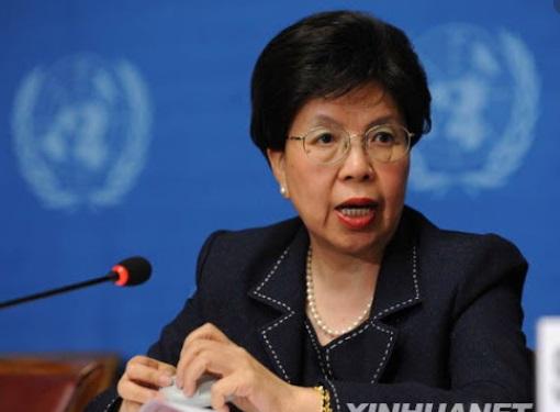 WHOを中国のものに WHOの前事務局長マーガレット・チャン氏