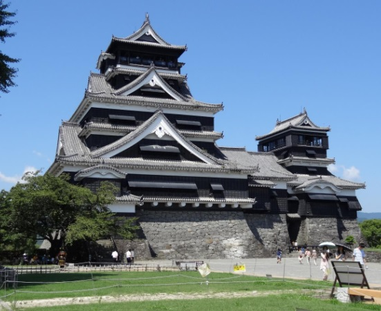 天下の名城熊本城