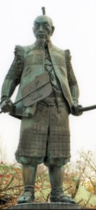 大阪城公園の豊臣秀吉像