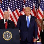 トランプ大統領・ペンス副大統領・メラニア夫人