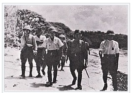 ペリリュー島の歩兵隊