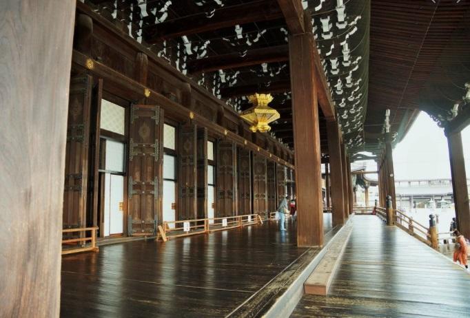 京都 西本願寺の縁側