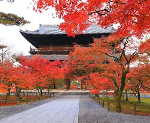 京都の南禅寺と紅葉