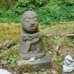 京都 三千院の「わらべ地蔵」