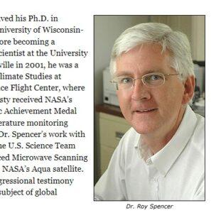ロイ・スペンサー博士
