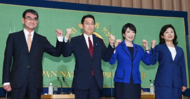 日本記者クラブ 討論会